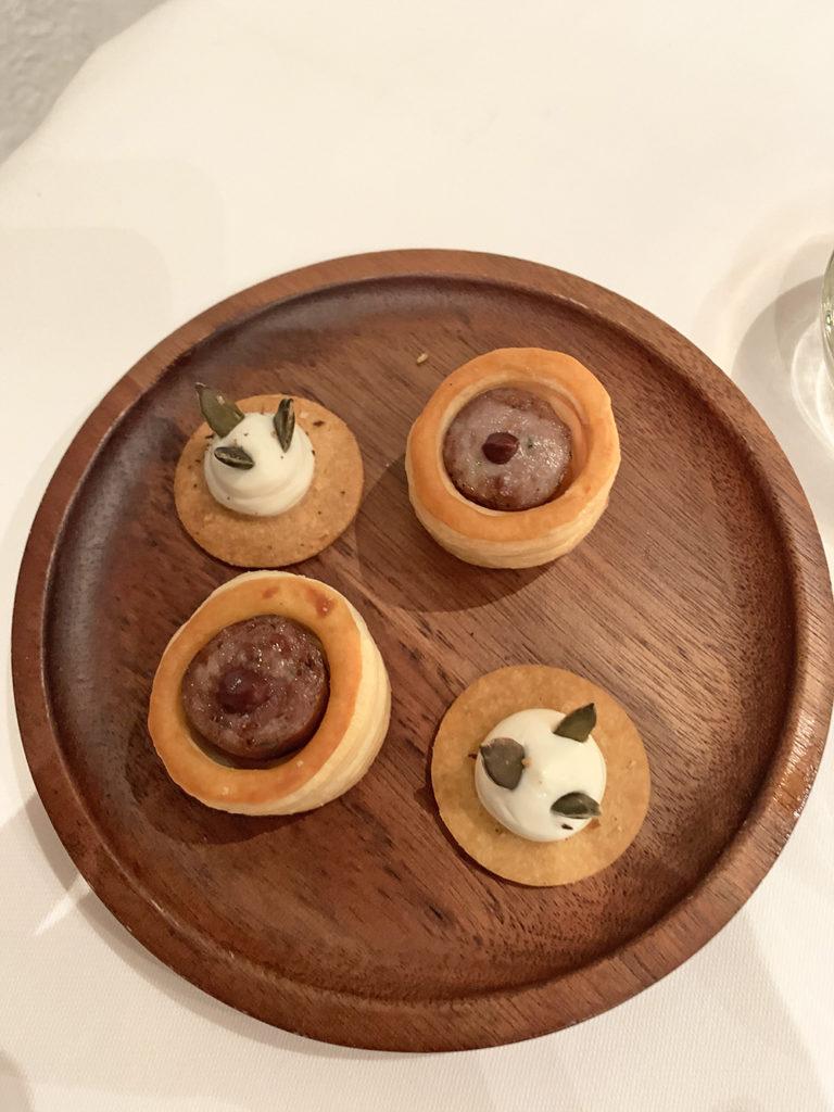 Amuse-bouche, Restaurant gastronomique Abbaye de Talloires - Blog Annecy, Restos & cie