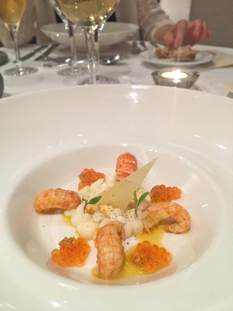 Ecrevisse, Restaurant gastronomique Abbaye de Talloires - Blog Annecy, Restos & cie
