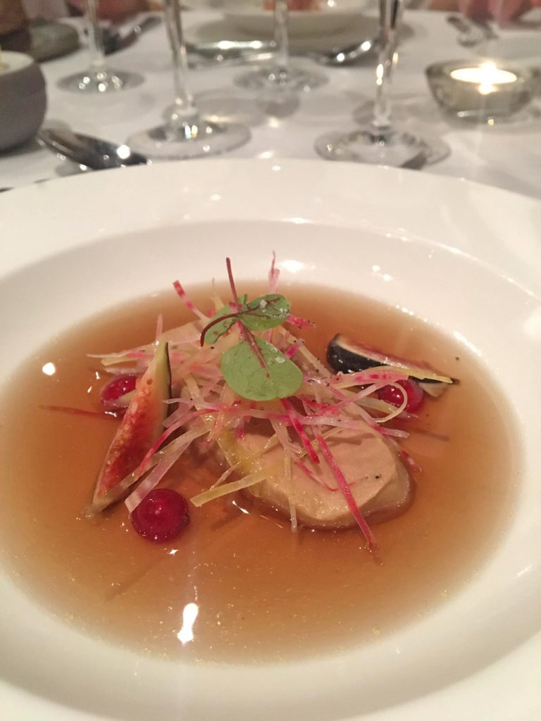 Foie gras, Restaurant gastronomique Abbaye de Talloires - Blog Annecy, Restos & cie