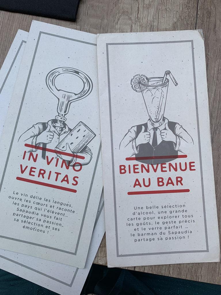 Carte Pizzeria Le Sapaudia, bonnes adresses - Blog Annecy, Restos & Cie