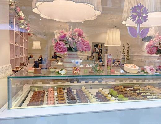 Vitrine Rose des Neiges, Pâtisserie & Salon de thé - Blog Annecy, Restos & Cie