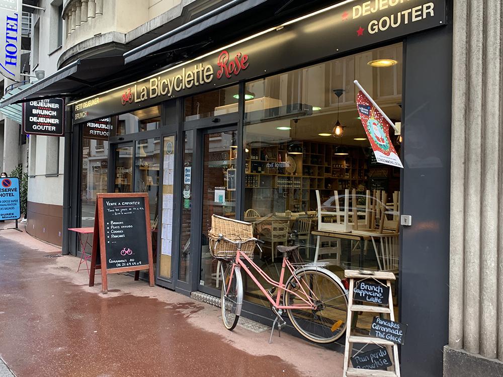 Bicyclette Rose, Annecy - blog Annecy, Restos & Cie