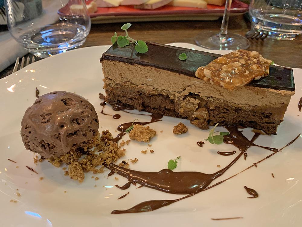 Dessert, Le Binome - Blog Annecy, Restos & Cie