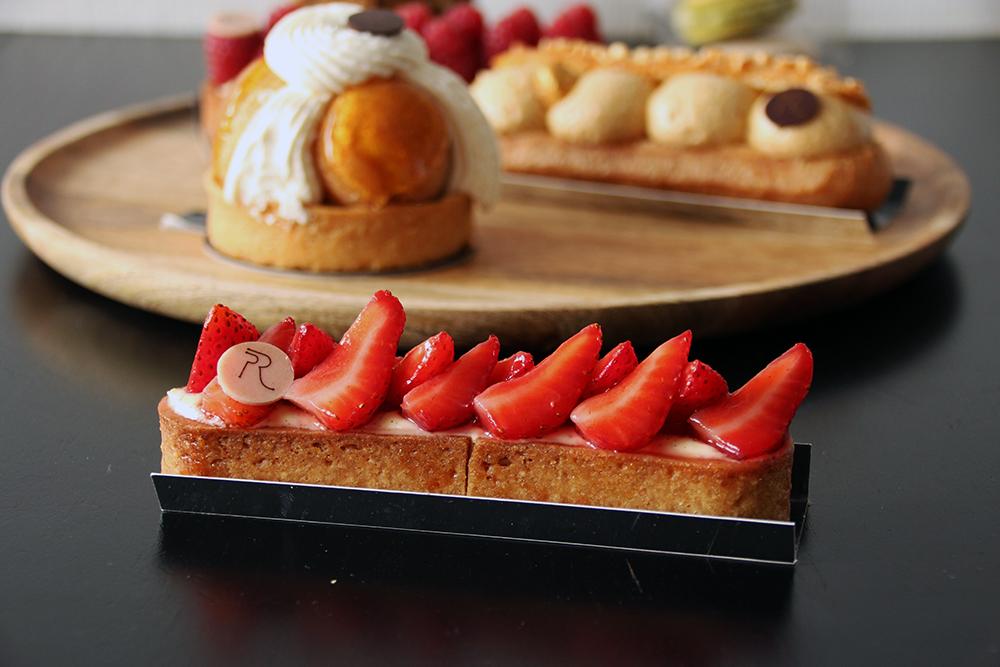 Tarte aux fraises - Annecy, Restos & Cie