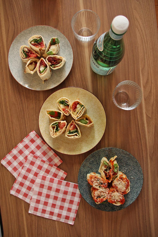 Semper Fi, assortiment de piadines - blog Annecy, Restos & Cie