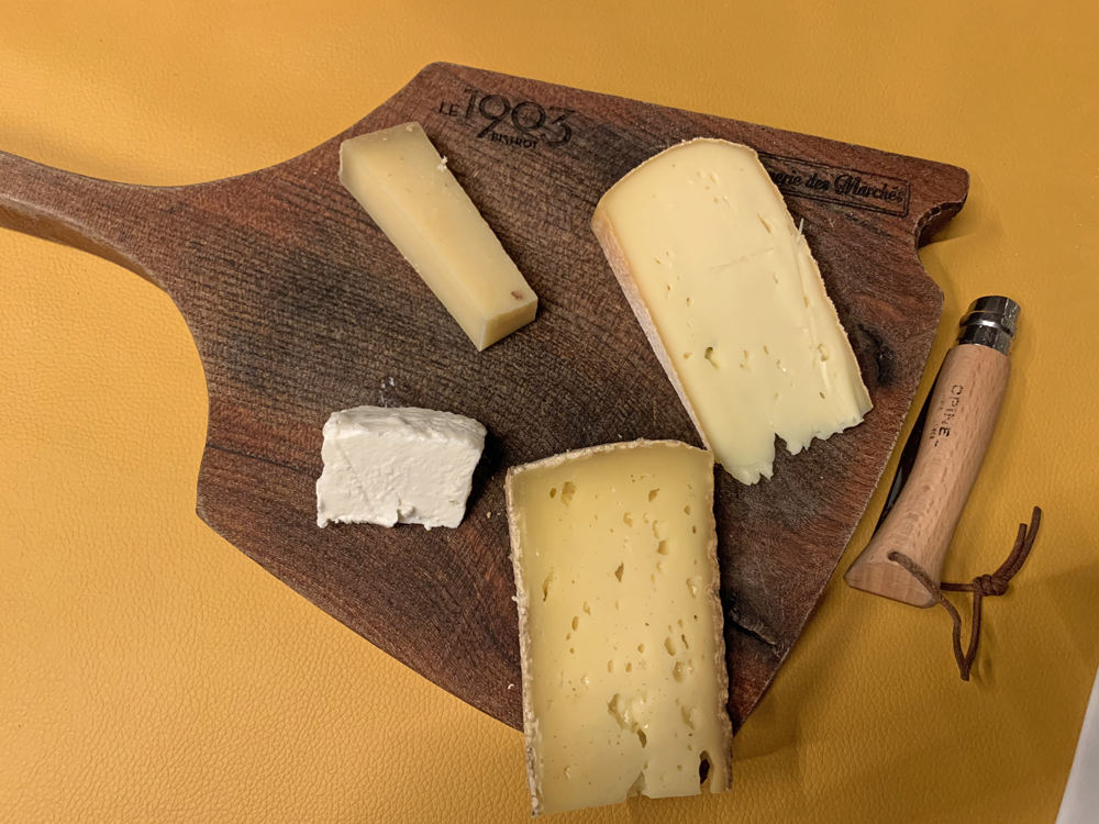 Plateau de fromages, Talloires - Blog Annecy, Restos & Cie