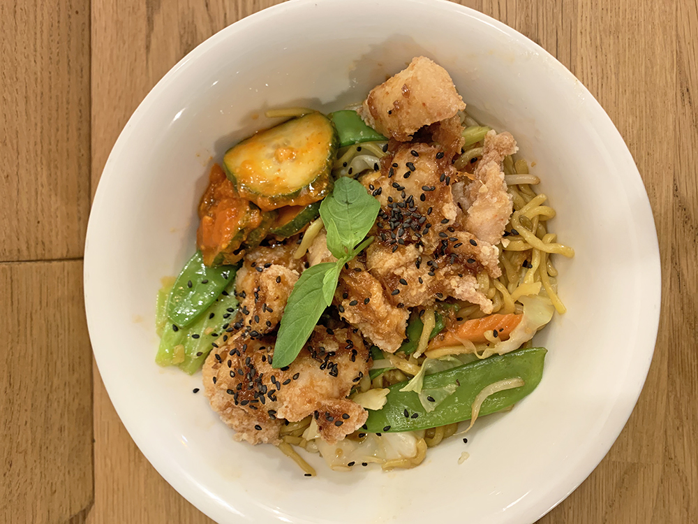 KotoKoto, Yakisoba poulet - Blog Annecy, Restos & Cie