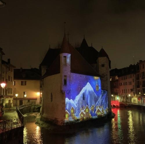 Les illuminations de Noel 2020 à Annecy