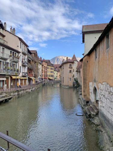 Les rues d'Annecy
