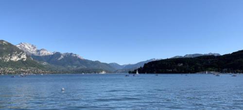 Lac d'Annecy en août 2019